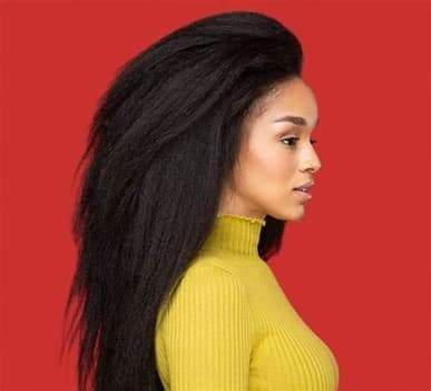 HOW TO CARE FOR KINKY STRAIGHT HAIR 12