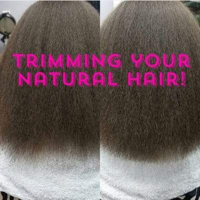 EVERYTHING YOU NEED TO KNOW ABOUT TRIMMING NATURAL HAIR 9