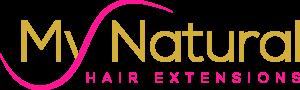my natural hair extensions logo