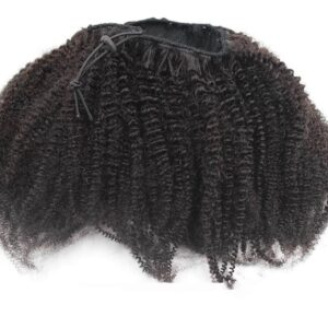Afro Kinky Ponytail: 4B 4C Drawstring Extensions for Sale